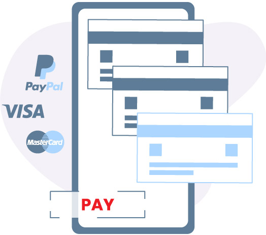 digital payments visa mastercard paypal billing software CRM.COM