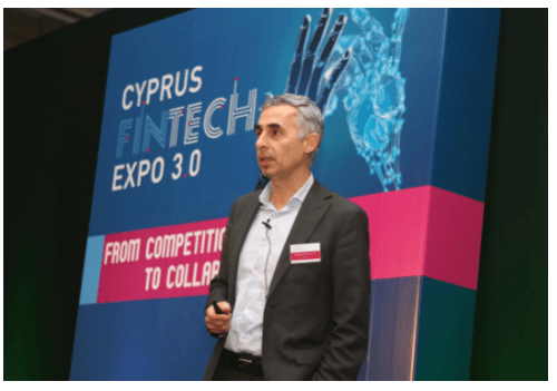 CRM.COM presented at the Cyprus FinTech Expo