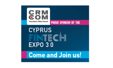 CRM.COM Proud Sponsor of the Cyprus FinTech Expo